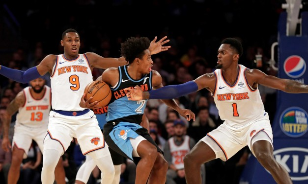 Randle Goes for 30, Knicks Find Their Footing vs. Cavaliers