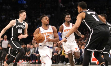 Knicks Try to Get Back on Track With Visit from Irving-Less Nets