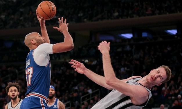 Comeback Attempt Falls Short, Knicks Drop Home Loss to Spurs