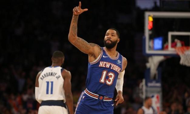 Knicks Triumph over Mavericks at MSG