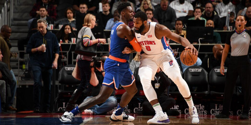 Knicks Mark Fourth Straight Loss With Defeat in Detroit