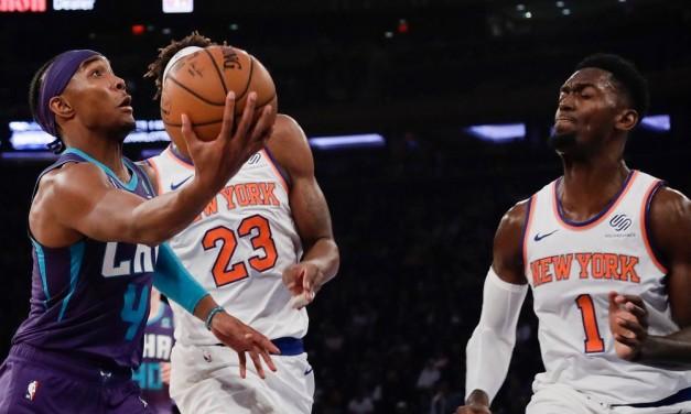 Knicks Waste Effort, Fall to Hornets on Devonte' Graham Game Winner
