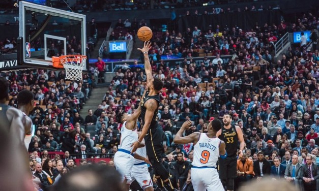 Raptors Spoil Barrett's Homecoming in Knicks Blowout