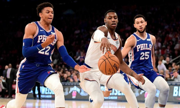 Knicks Outclassed by Sixers in Another Sloppy Second Half