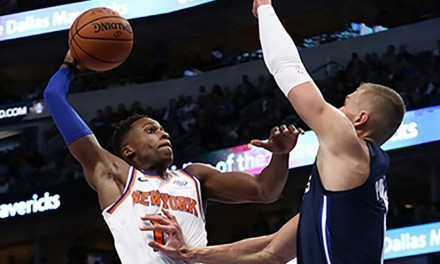 Frank Ntilikina Stars as Knicks Knock Off Mavericks, 106-102