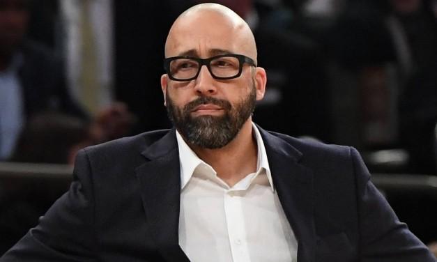 Head Coach David Fizdale Axed by Knicks Brass