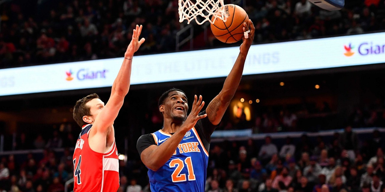 Julius Randle Dominates Again, Knicks End the Year With a Victory Over Wizards