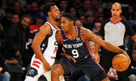 Knicks Seeking Redemption in D.C. Against Wizards in Last Game of 2019