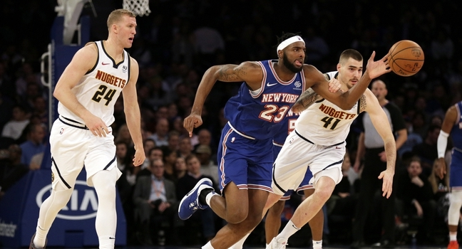 Knicks Fall to Nuggets, Drown in Three-Pointer Barrage