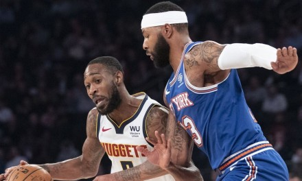 Knicks Finish Road Trip inDenver With Nuggets Rematch