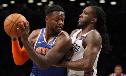 Julius Randle Powers Knicks in Crosstown Win Over Nets