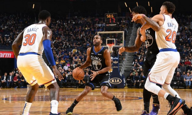 Knicks Require Overtime to Beat Warriors, Snap Losing Streak in Miller's First Win