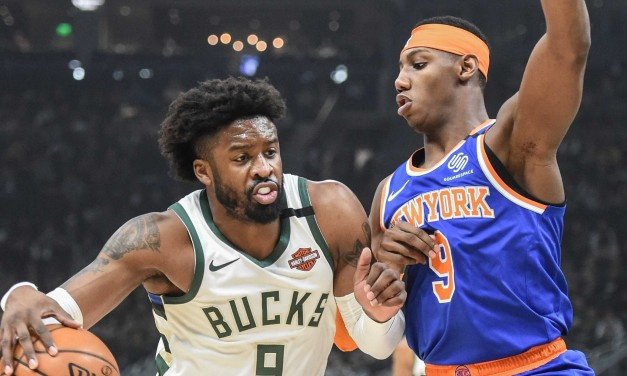 Knicks Get Mauled in Milwaukee by Bucks, 128-102