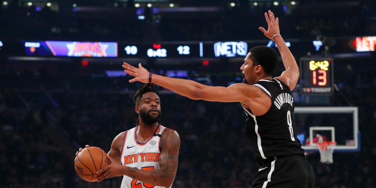 Knicks Beat Nets, Split Season Series as NBA Community Mourns Loss of Kobe Bryant