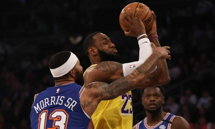 Knicks Can't Handle LeBron James, Lakers at the Garden