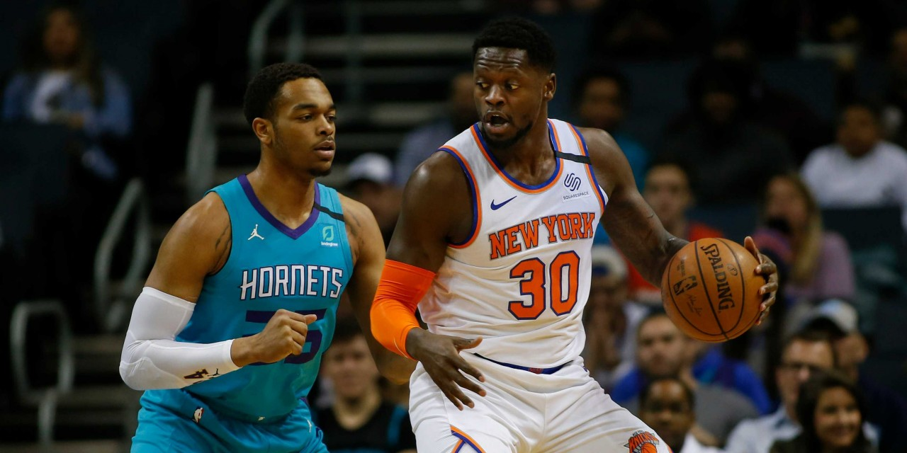 Knicks Squander Double-Digit Lead in Road Loss to Hornets