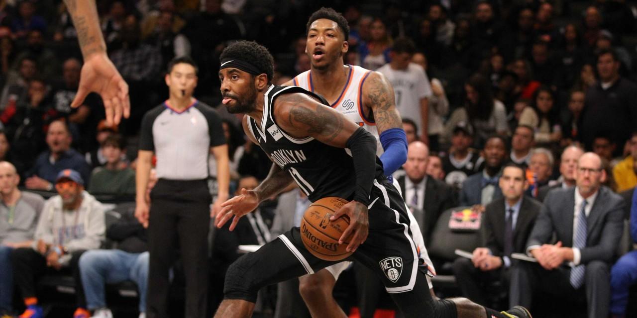 Knicks Host Nets in Last Meeting of the Season