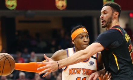 Knicks Rout Cavs on the Road for Rare Victory