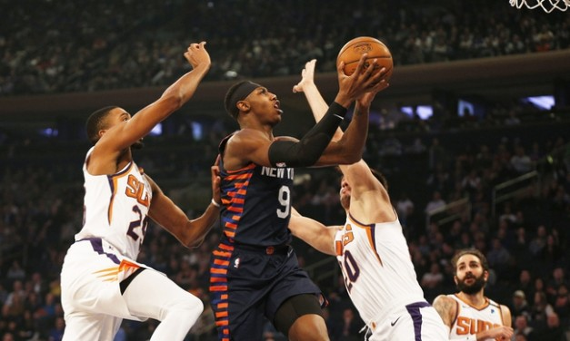 Ricky Rubio Powers Suns Past Knicks at Home