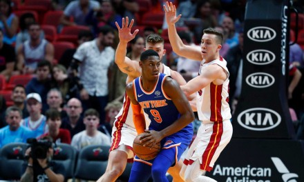 RJ Barrett Lone Knicks Rising Stars Rep, Unlikely to Play, However