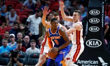 RJ Barrett Lone Knicks Rising Stars Rep, Unlikely to Play, However