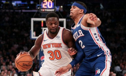 Knicks Begin Stretch Without Barrett, Battle Ben Simmons and Sixers at the Garden