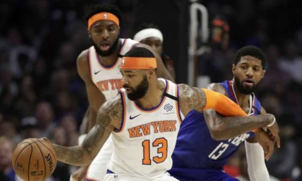 Clippers Edge Knicks in All-Around Offensive Outburst