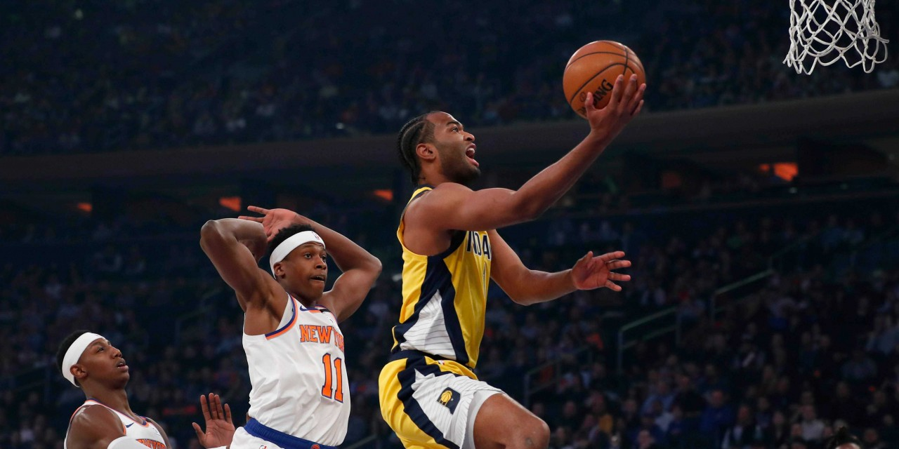Knicks Come Out Flat After Break Against Pacers