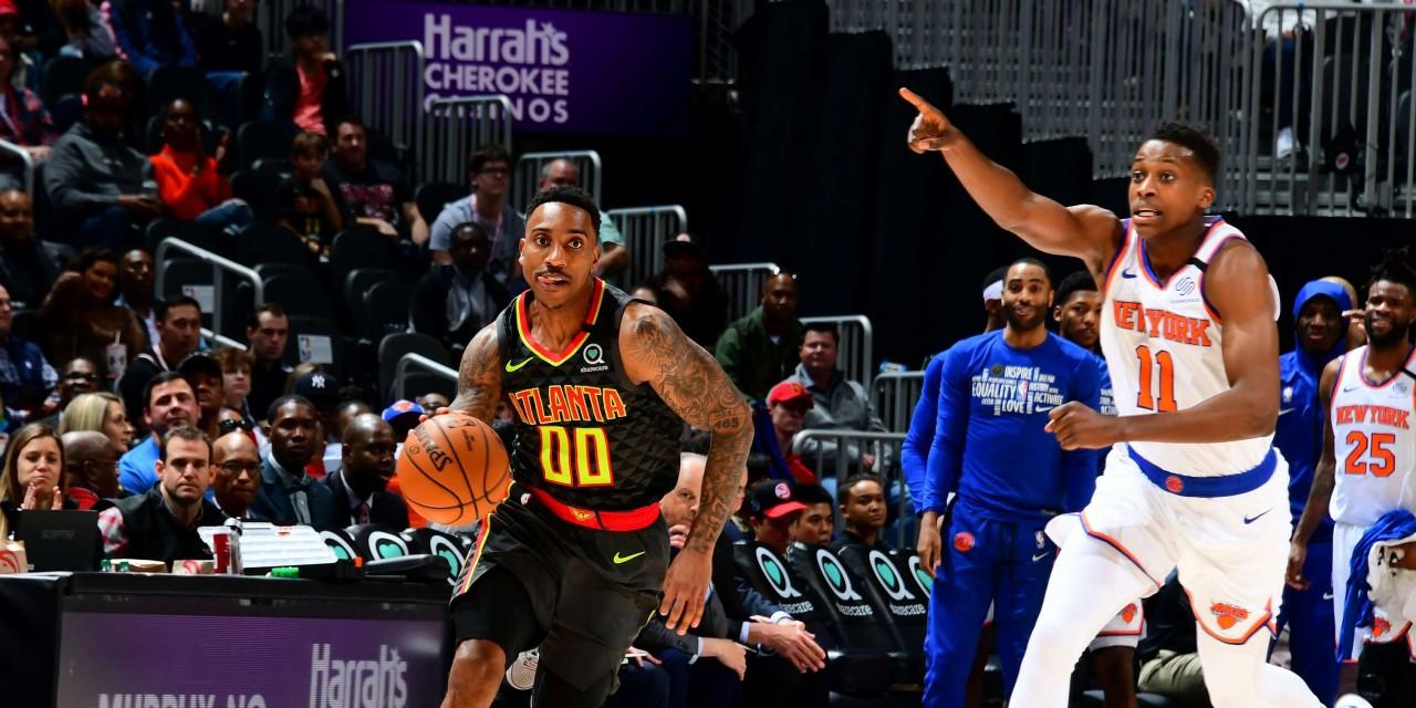 Hawks Halt Knicks' Winning Ways in Double Overtime Loss