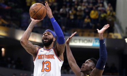 Knicks Hold off Indiana Pacers for Road Victory