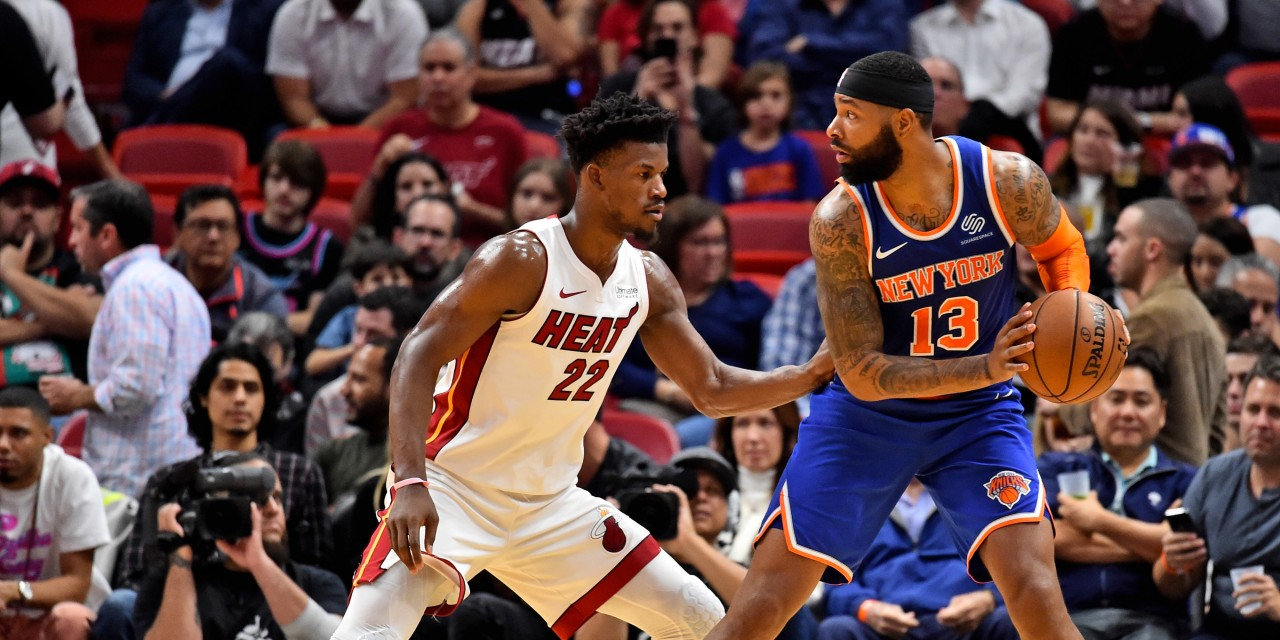 A Case for Keeping Knicks Forward Marcus Morris