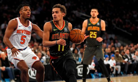 Knicks Travel to Atlanta to Face Hawks For Final Time This Season