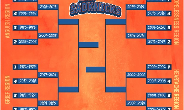March SadKnicks Day 2: Round 1 Recap, Round 2 Preview