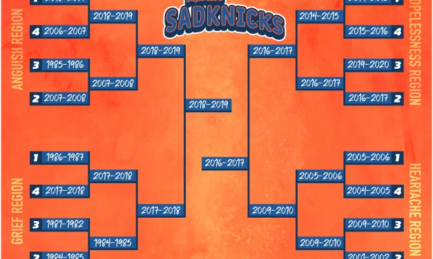 March SadKnicks Recap: A 'Champ' Is Crowned