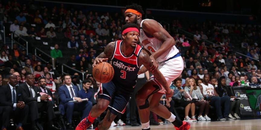Wizards Drop Knicks on Frank Ntilikina's Career Night