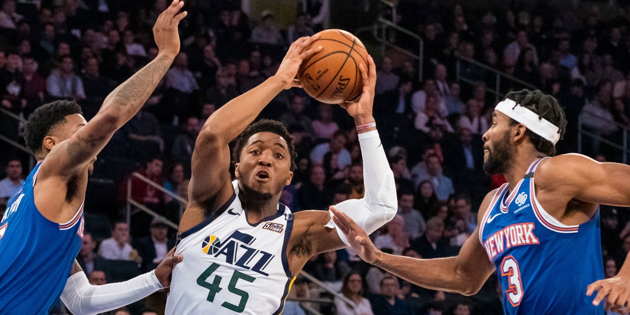 Julius Randle, Knicks No Match for Donovan Mitchell and the Jazz