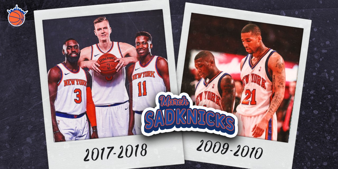 March SadKnicks: Shaping Up Final Four