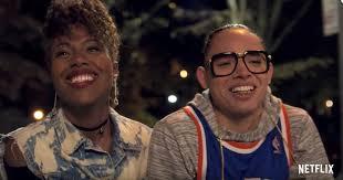 DeWanda Wise, Anthony Ramos, She's Gotta Have It, Netflix, Knicks