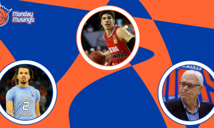 Monday Musings: Knicks Going Big Name Hunting in the Draft?