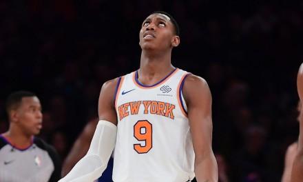 Knicks' RJ Barrett Left Off NBA All-Rookie Teams