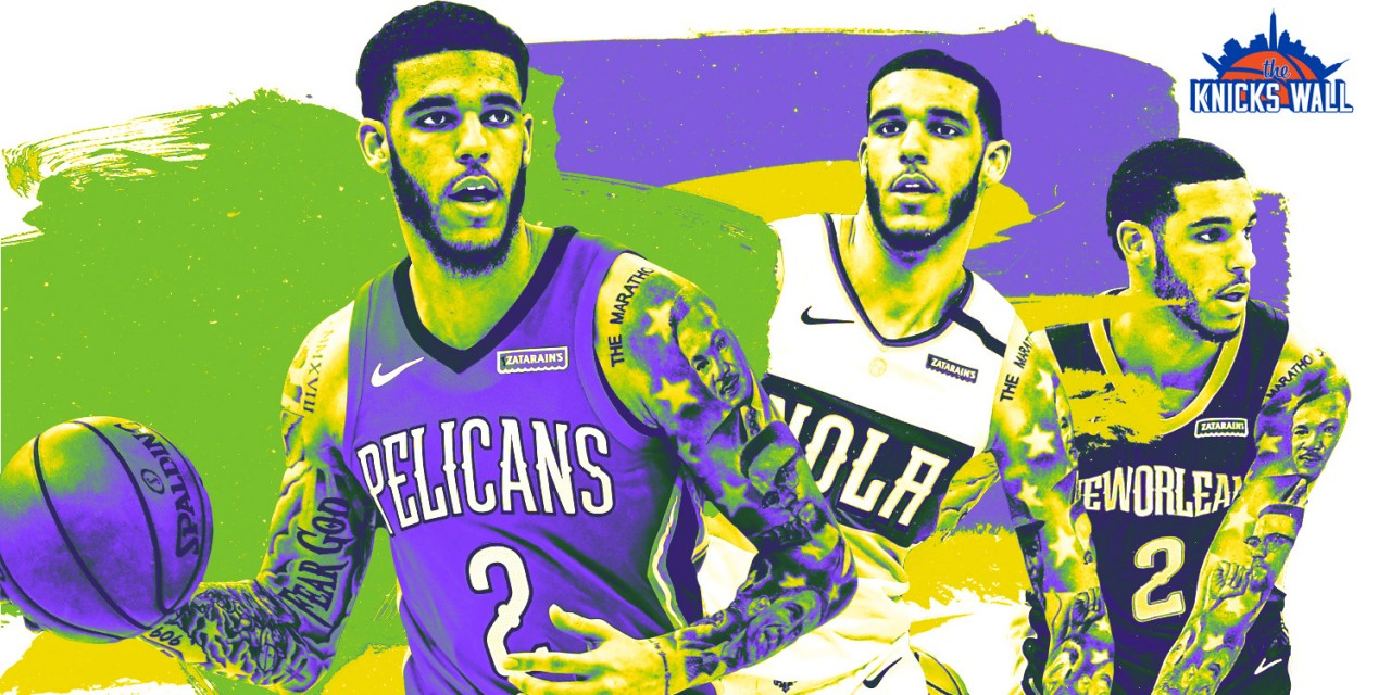 Trading for Lonzo Ball Would Help in Many Ways for New York