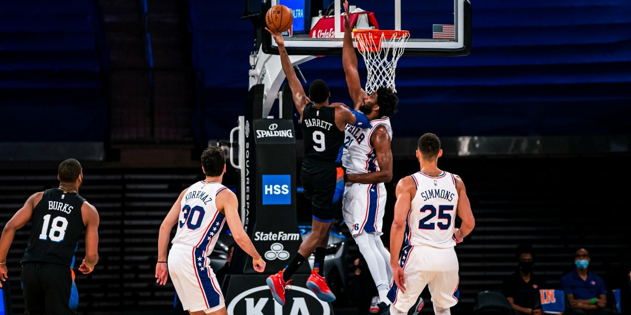Knicks Start Strong But Ultimately Outclassed by Joel Embiid, Sixers