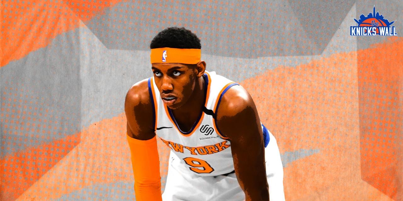 How Does the Knicks Front Office Respond to RJ Barrett's Progress?