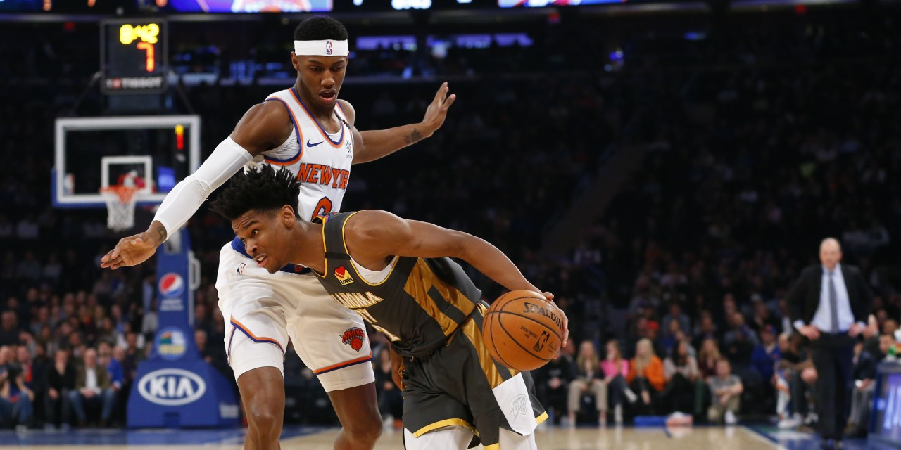 Knicks Go For Four Straight Wins With Thunder Meetup