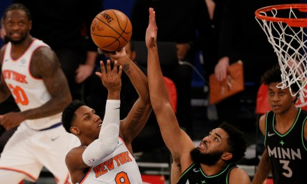 Tom Thibodeau, Knicks React to Win Over Wolves With Fans on Their Way