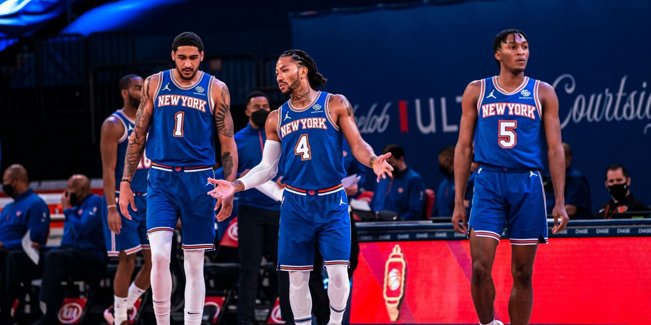 Derrick Rose, Obi Toppin Ready to Push the Pace in New York