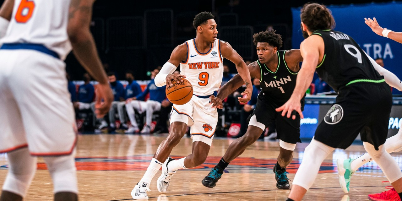 Knicks Erase Fourth-Quarter Rally From Karl-Anthony Towns, Timberwolves
