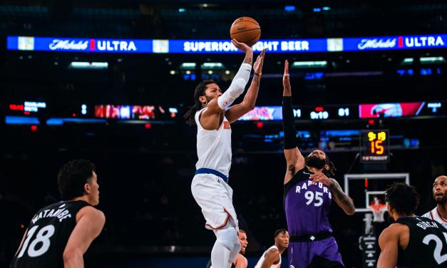 Red-Hot Knicks Host Raptors in Saturday Matinee