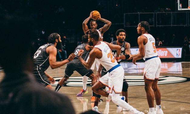 Knicks Battle Nets for Final Time in Regular Season