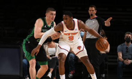 Knicks Dutifully Celebrate Playoffs, But Focus Next Is on Hawks
